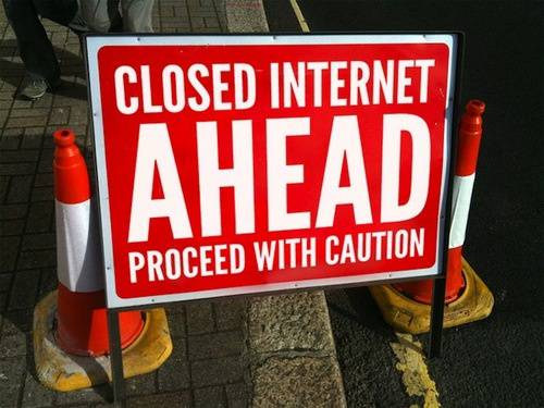 closed-internet